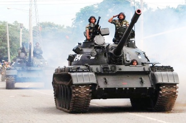 Presupuesto Militar de Centroamérica. Honduras y Costa Rica con másgasto