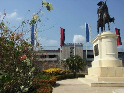 El Estadio Dennis Martínez también ha sido utilizado para actividades políticas.