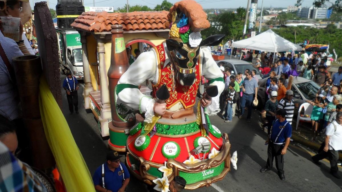 Managua se vistío de fiesta con desfileHipico