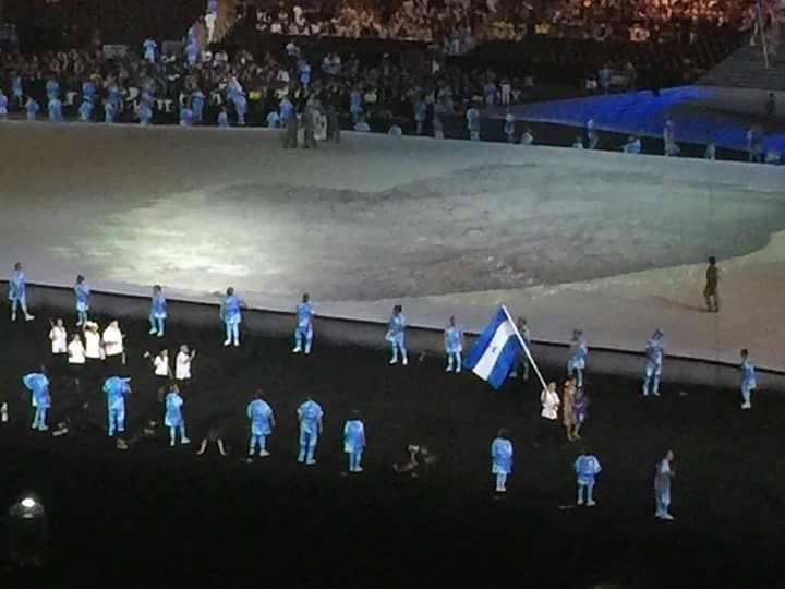 Nicaragua desfila en la inauguración de los Paralímpicos enMaracaná