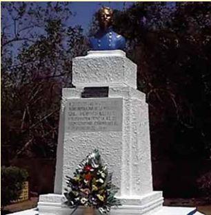 Mausoleo donde reposan los restos de Rigoberto Cabezas.