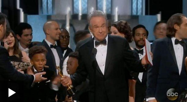 Confusión en el Oscar por MejorPelícula