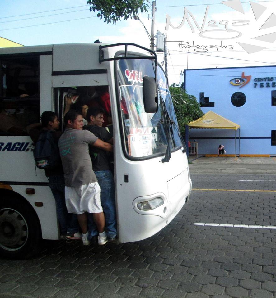 El alto precio de ser pasajero de bus enManagua