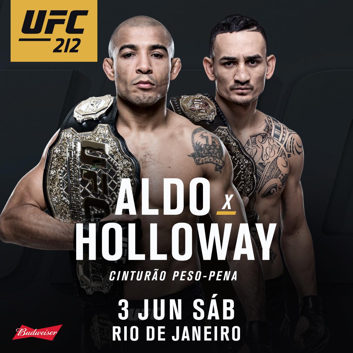 UFC 212: José Aldo vs. MaxHolloway