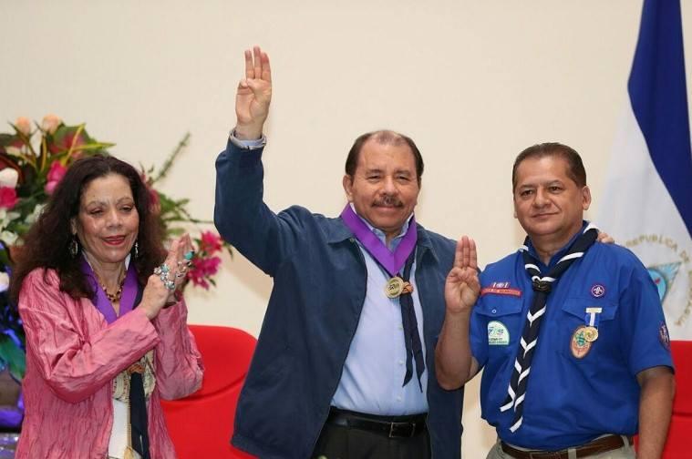 Scouts de Nicaragua celebranCentenario