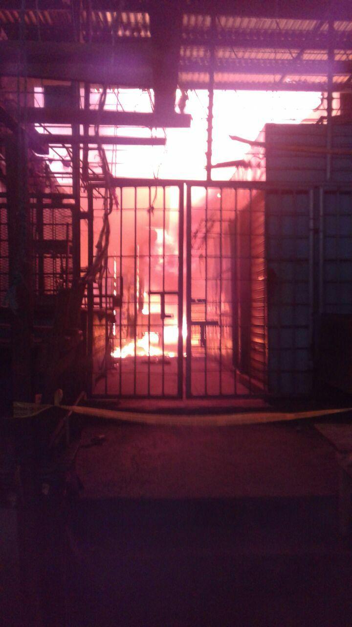 Mercado Oriental de Managua: 60 tramos incinerados y 200 evacuados, según informepreliminar