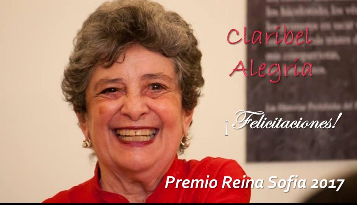 Poeta nicaragüense Claribel Alegría recibe Premio Reina Sofía dePoesía