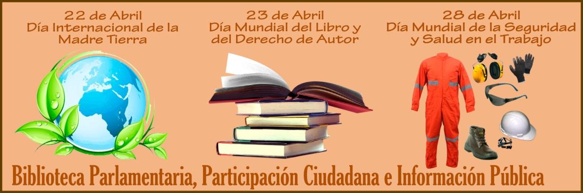 Biblioteca Parlamentaria presenta: segundo Boletin Informativo de abril 2017