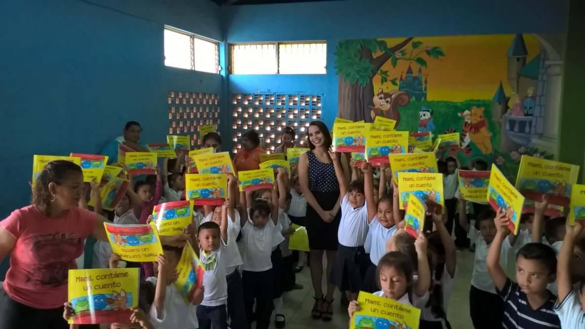 Celeste Guido presentó su primer libroinfantil