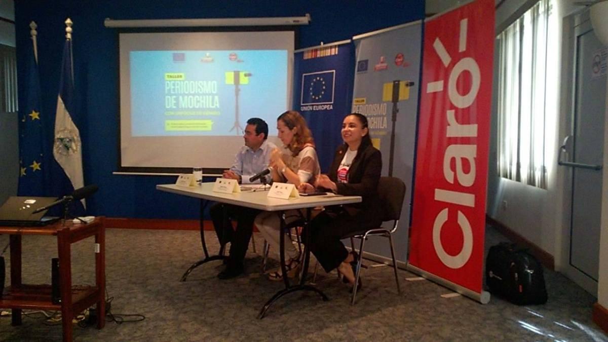 Estudiantes y comunicadores participarán en taller de Periodismo deMochila