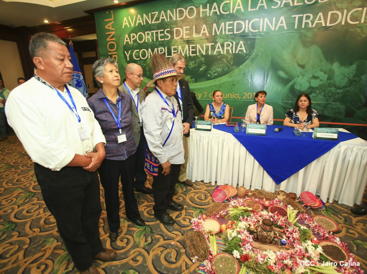 Nicaragua expone sus avances en medicina tradicional y complementaria en encuentromundial