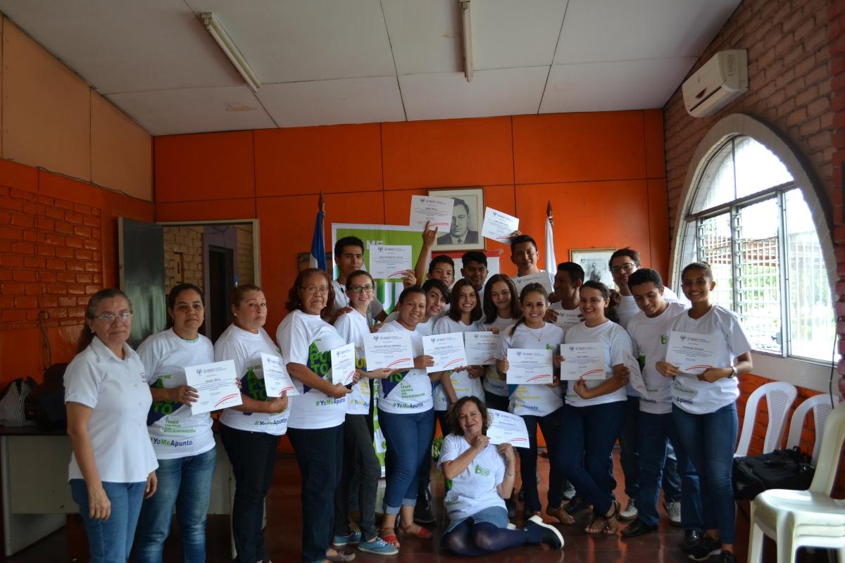 El Aventino concluyó capacitación de PASMO Nicaragua y GeneraciónCero