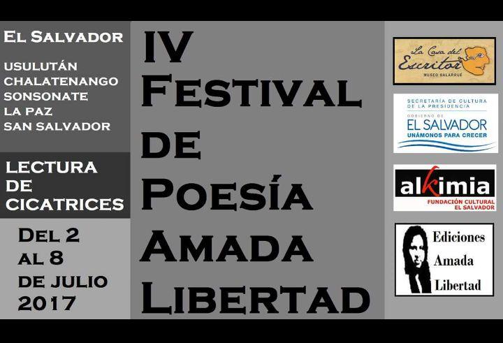 """Poetas nicaragüenses presentes en """"Festival Internacional Poesía AmadaLibertad"""""""