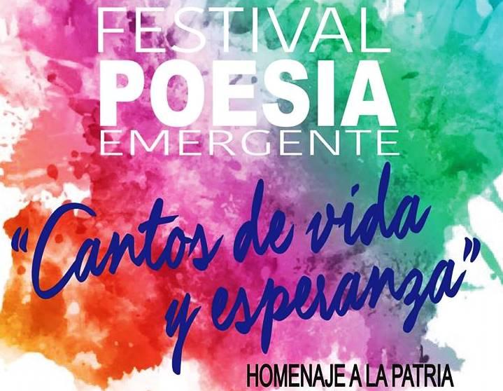 Anuncian Primer Festival de PoesíaEmergente.