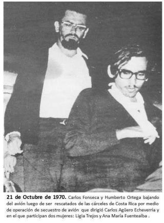 Carlos Fonseca y HUmberto Ortega