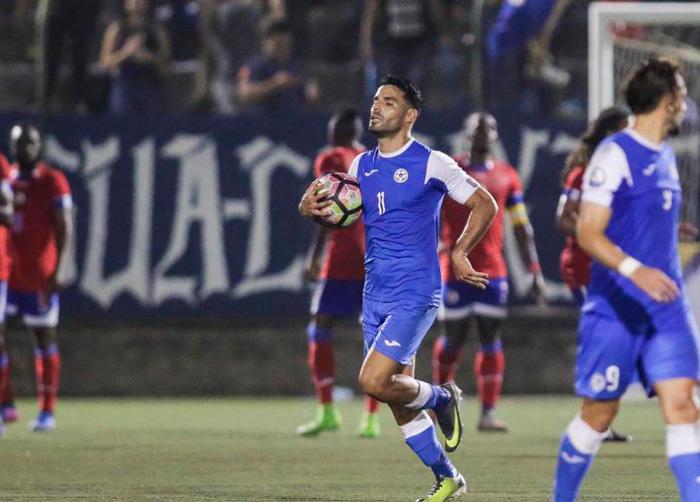 """Juan Barrera: """"Todo futbolista nicaragüense sueña con jugar en selección y hacer cosasgrandes"""""""