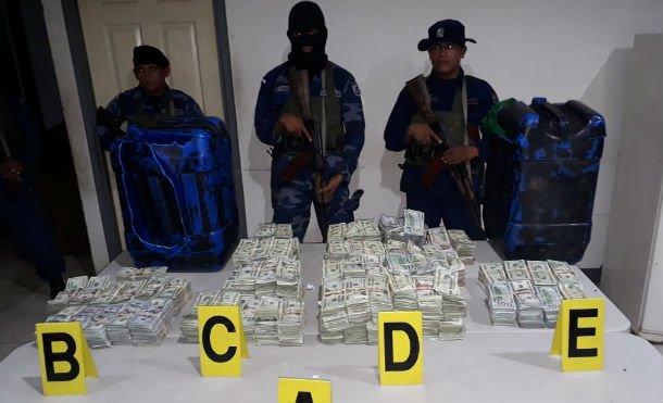 Rivas: Fuerza Naval de Nicaragua incauta más de un millón de dólares al narcotráficointernacional