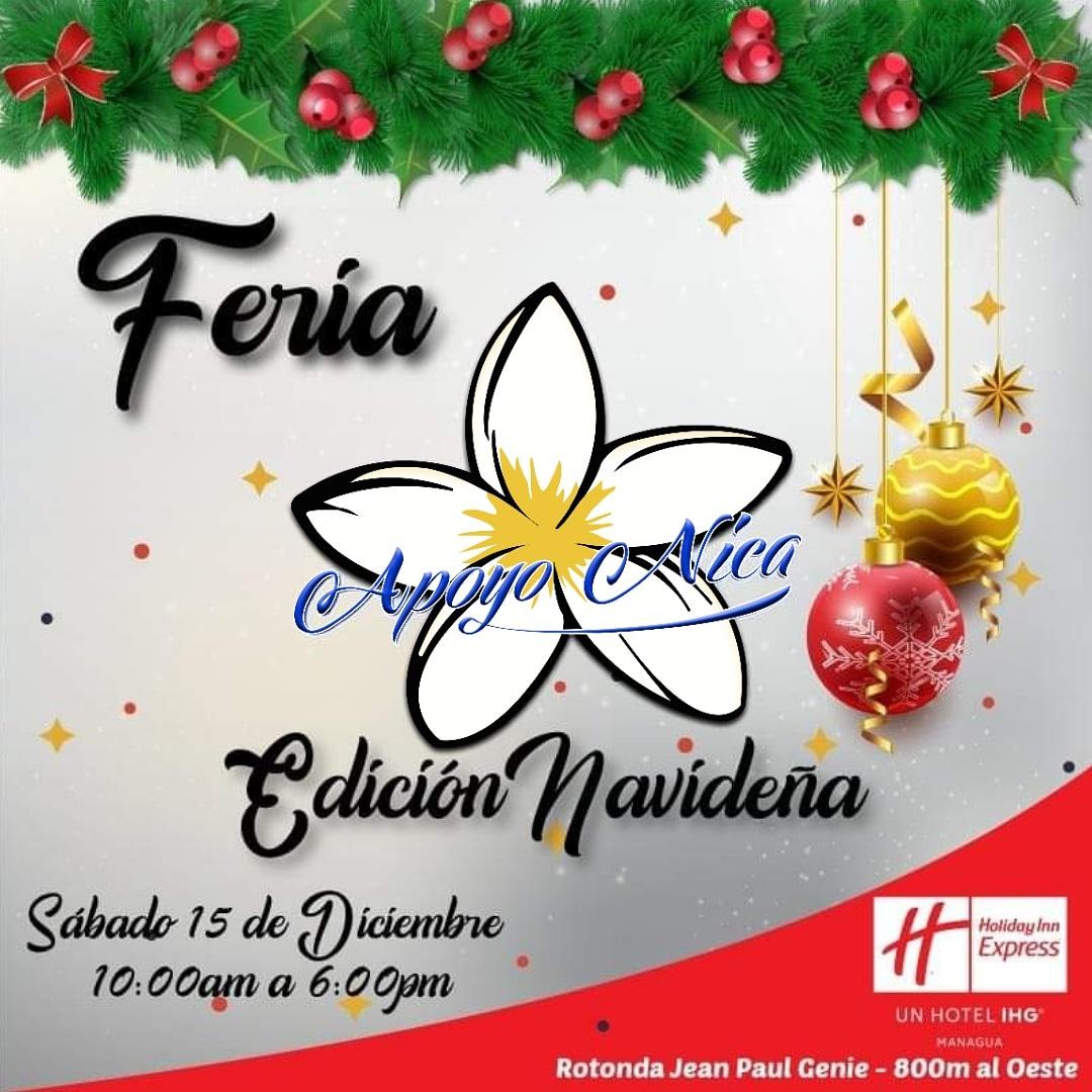 """Feria navideña """"ApoyoNica"""""""
