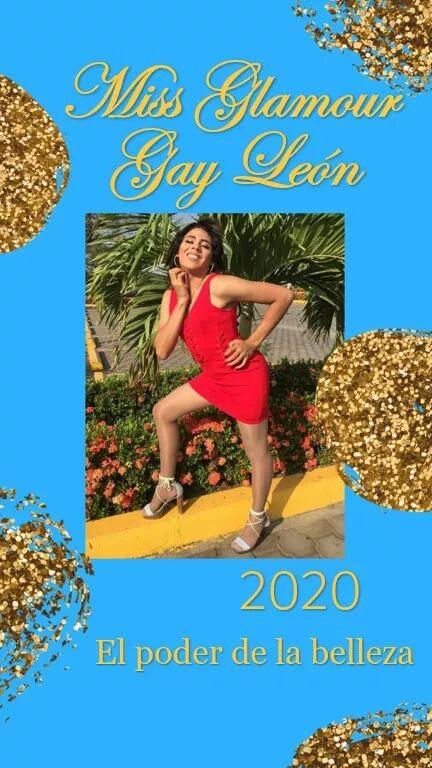 "Jennifer Salazar Candidata a Miss Glamour Gay León 2020 ""una parte de Costa Rica es deNicaragua"""