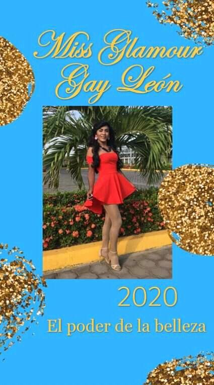 """Nayara Neftaly  Candidata a Miss Glamour Gay León 2020 """"una corona no hace a una reina si no que una reina hace unacorona"""""""